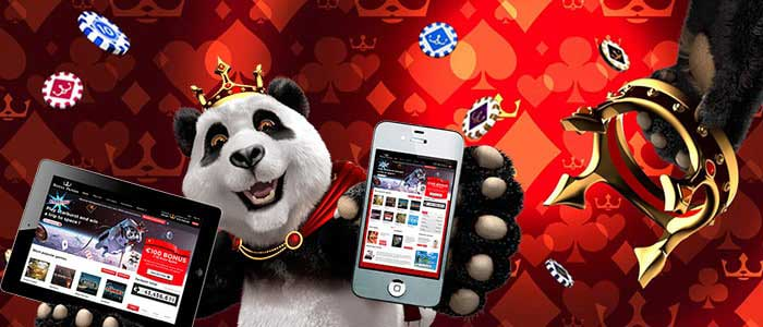 Royal Panda show Casino apps
