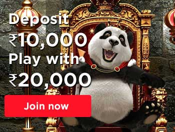 Royal Panda India Welcome Bonus