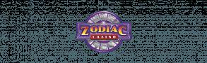 A transparent zodiac casino logo