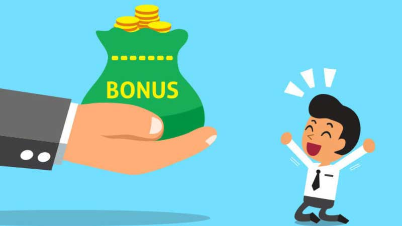Bonus money from online casino